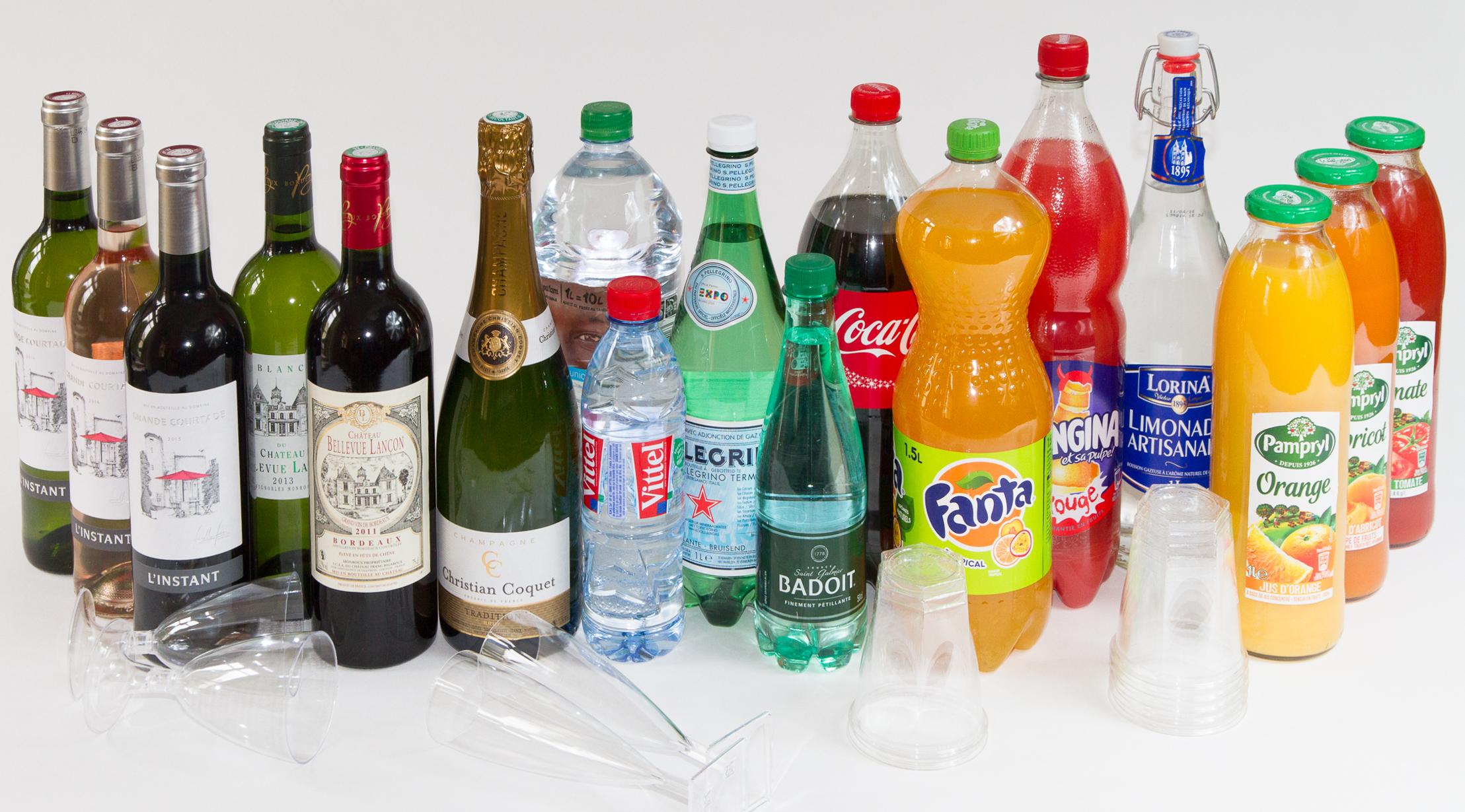 Boissons - Quantite boisson par personne ...